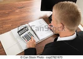 calculatrice graphique bureau en gros facture homme affaires calculer bureau bureau gros plan
