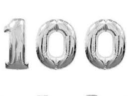 number balloons delivered 100th large birthday number one hundred balloons delivered