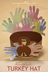 thanksgiving handprint turkey hat savvy sweet this