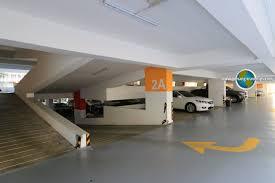 Car Park by Hill Multi Storey Car Park