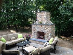 Outdoor Fireplaces Pictures by Outdoor Fireplaces Dutchies Stone Works