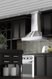 Kitchen Stove Hoods Design Remodel Your Kitchen With The Zline 655 4ssss Designer Stainless