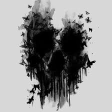 butterfly skull print by jun salazar image 3763936 by