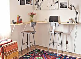 Building A Wooden Desktop by Diy Desk 15 Easy Ways To Build Your Own Bob Vila