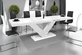 Esszimmertisch Folie Esstisch Victoria Tisch Ausziehbar In Super Hochglanz Acryl Olive