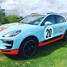 Porsche Macan Blue - porsche gelderland on twitter