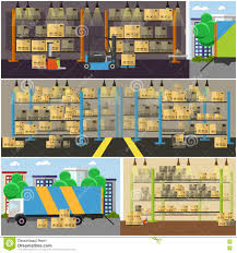 warehouse floor plans free logistic and delivery service concept banner warehouse interior