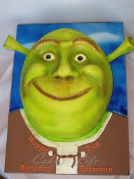 Meme Birthday Cake - birthday cake shrek know your meme