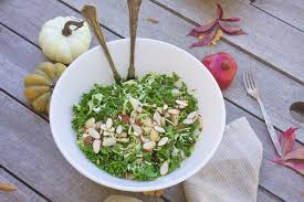 kale salad for thanksgiving conscious cleanse u2013 raw kale and brussels sprouts salad