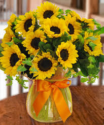 Beautiful Arrangement Sunflower Surprise Floral Arrangements Grandparent U0027s Day