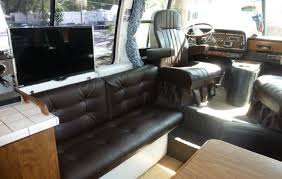 motor home interior only way to travel 1977 gmc motorhome