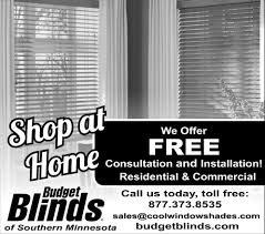 free consultation and installation budget blinds albert lea mn