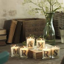 Wedding Gift Table Ideas Hand Poured Alphabet Scented Candle By The Country Candle Company