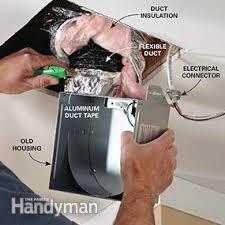 insulation around bathroom heater fan fix a noisy bathroom fan family handyman