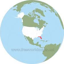 where is florida located on the map