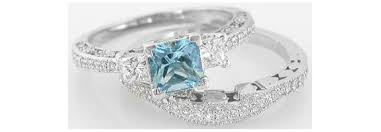 aquamarine diamond ring aquamarine engagement rings engagement rings wiki