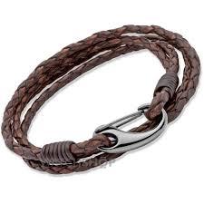 bracelet men leather images Mens leather bracelets espar denen jpg