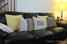 easy updated throw pillows creative ramblings