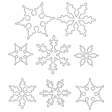 19 awesome snowflake template for royal icing images mukluk