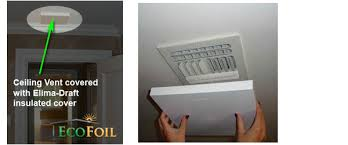 Round Ceiling Vent Covers by Insulated Magnetic Vent Covers Elima Draft Vent Covers