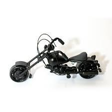 harley davidson home decor catalog harley davidson motorcycle model scrap metal sculpture black small