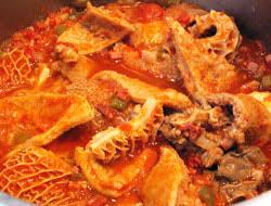 cuisiner des tripes recette tripes sauce catalane sofregit cuisine languedoc