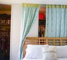 Closet Curtain Dorm Room Design Add A Splash Of Color With Curtains Dig This