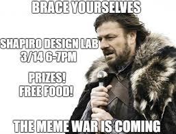 Meme War - meme war happening michigan