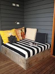 how to make a diy pallet bed frame