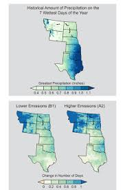 Time Change Map Usa by Great Plains National Climate Assessment