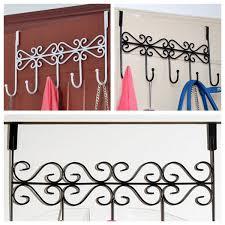haken badezimmer kreativ über tür badezimmer 5 haken kleiderbügel hängehalter