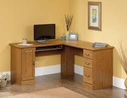 Sauder August Hill Computer Desk Sauder L Shaped Desk Dover Oak Finish Best Home Furniture Decoration