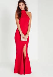 Red And Black Party Dresses Maxi Dresses Long U0026 Short Sleeve Maxi Dresses Missguided