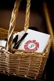 wedding program basket wedding program wiregrass weddings