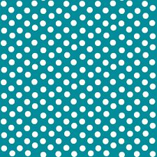pretty polka dots in teal fabric thepinkhome spoonflower