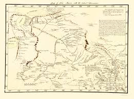 Tos Map Old State Map New Mexico Territory 1778