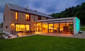 modern barn style house plans shotgun