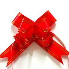large gift bows 100pcs 3 48cm large gift bows wrap 10pcs lot pull flower ribbon