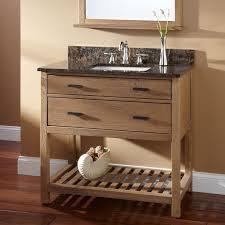 oak rectangular vanity signature hardware