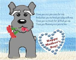 mothers day dog gifts poems and free dog ecard