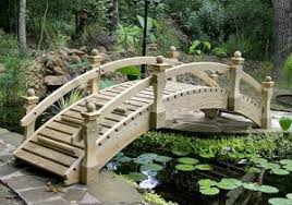 yard bridge creating an aquascape in your own yard patio productions