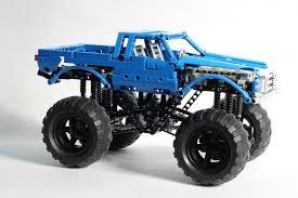 moc bigfoot monster truck lego technic mindstorms u0026 model team