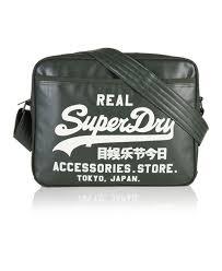 alumni bag new mens superdry flock alumni bag moss green winter wh ebay