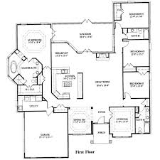 house plans 4 bedroom ranch house floor plans 4 alluring 4 bedroom house plans home