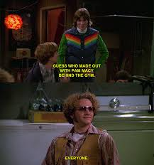 Kelso Burn Meme - 23 of the best burns from that 70s show tvs movie and movie tv