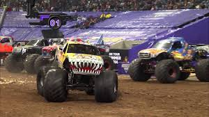 monster truck jam videos youtube monster jam in reliant stadium houston tx 2014 full show