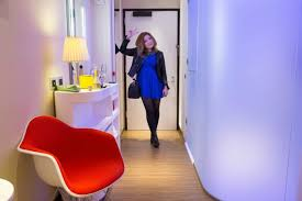 citizenm new york times square hotel room tour youtube