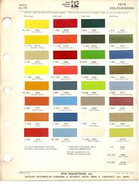 porsche red paint code paint chips 1974 beetle vw bus volkswagen vw renk pinterest