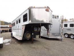 used 2009 sundowner 3 gooseneck sunlite727 trailer