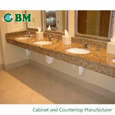 bathroom countertops with built in sinks bathroom countertops